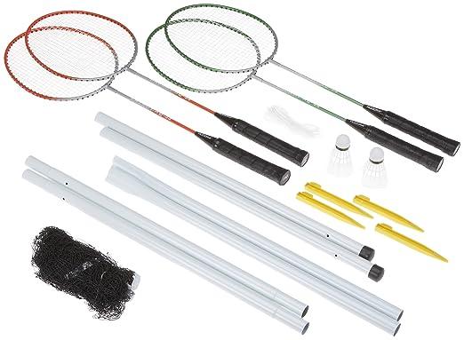 4 opinioni per Hudora -Team RQ-44, Set da Badminton, 4 racchette in acciaio, 2 palline