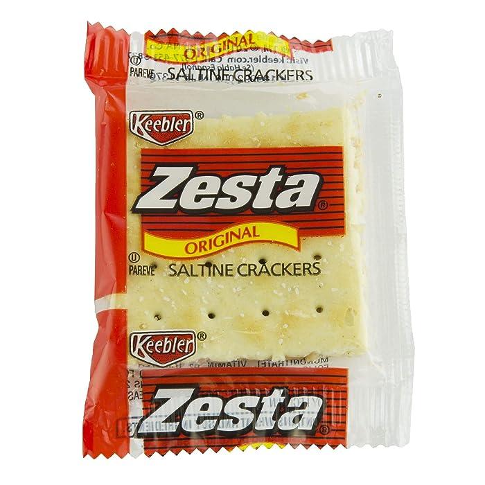 Keebler, Zesta, Saltine Crackers, Original, Single Serve, 0.20 oz(Pack of 300)