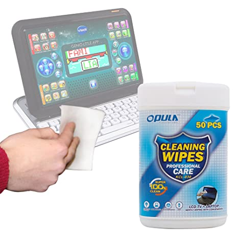 DURAGADGET Toallitas Especiales para Limpiar La Pantalla De Ordenador portátil y Tablet Educativo VTech: Amazon.es: Electrónica