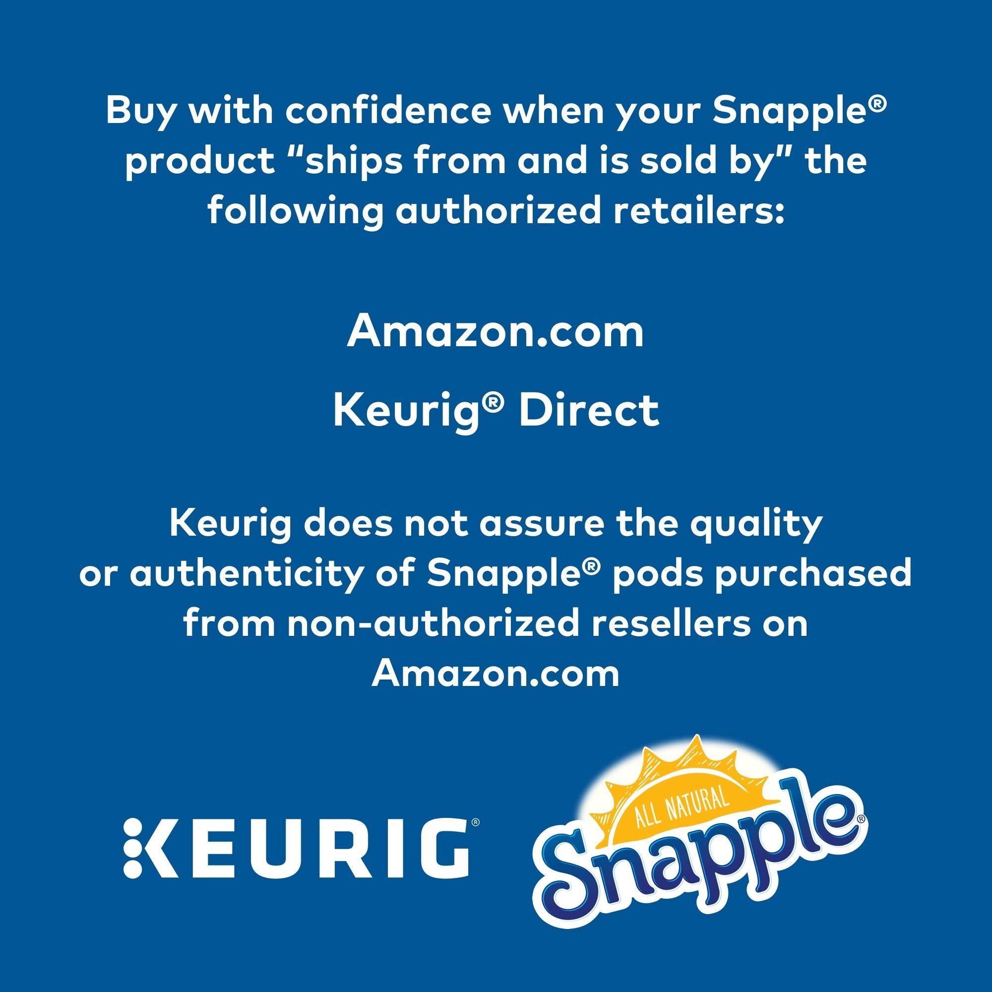 Keurig K Cups Snapple, Diet Lemon Iced Tea , 72 Count by Snapple (Image #9)