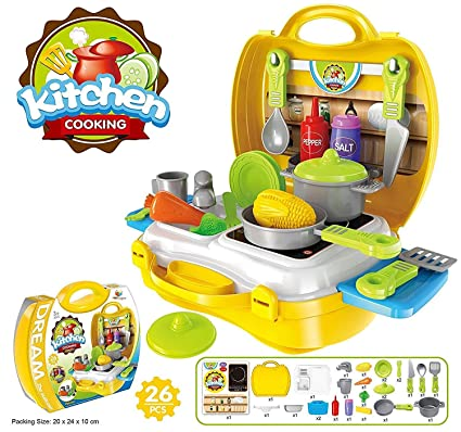 Buy Sns Kitchen Set Baby Girl S And Baby Boy S Ultimate Chef S