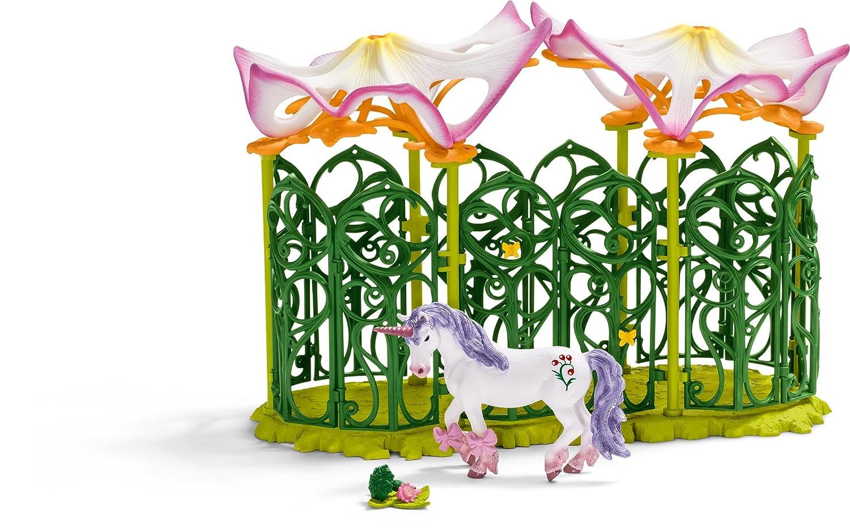 Schleich Elfenschloss Zubehör - Stall für Einhorn und Pegasus