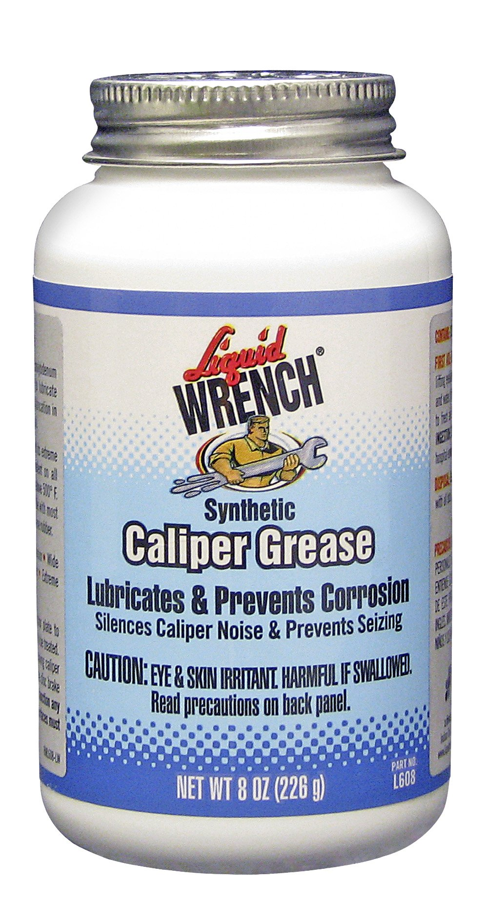 Liquid Wrench L608/6-6PK Disc Brake Caliper Grease - 8 oz, (Pack of 6) by Liquid Wrench