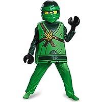 LEGO Costume de, Enfants Ninjago Lloyd Deluxe Tenue, Medium, âge 7–8Ans, Hauteur 4'5,1cm–4' 51/5,1cm
