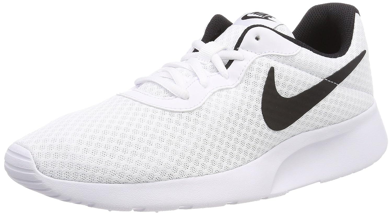 Nike Tanjun White/Black Men's Running Shoes B006RMOPD8