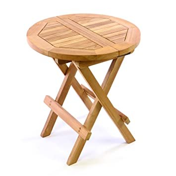 Gartentisch rund klappbar  Amazon.de: DIVERO Kindertisch Gartentisch Balkontisch ...
