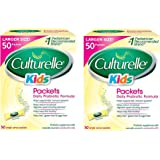 Culturelle Kids Packets Daily Probiotic Supplement OYiVwL, 2Packs (50 Count)