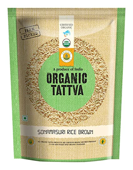 Organic Tattva Masuri Brown Rice, 1kg