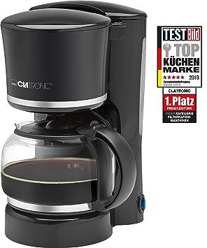 Clatronic KA 3555 Cafetera eléctrica de Goteo automática, máquina café de Filtro Capacidad 8 a