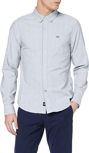 dockers Stretch Oxford Shirt Camisa Unisex Adulto: Amazon.es: Ropa y accesorios