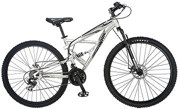 Mongoose Impasse Dual Full Suspension Bicycle 29