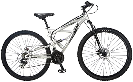 5bf2f7e3ea0 Amazon.com   Mongoose Impasse Full Dual-Suspension Mountain Bike ...