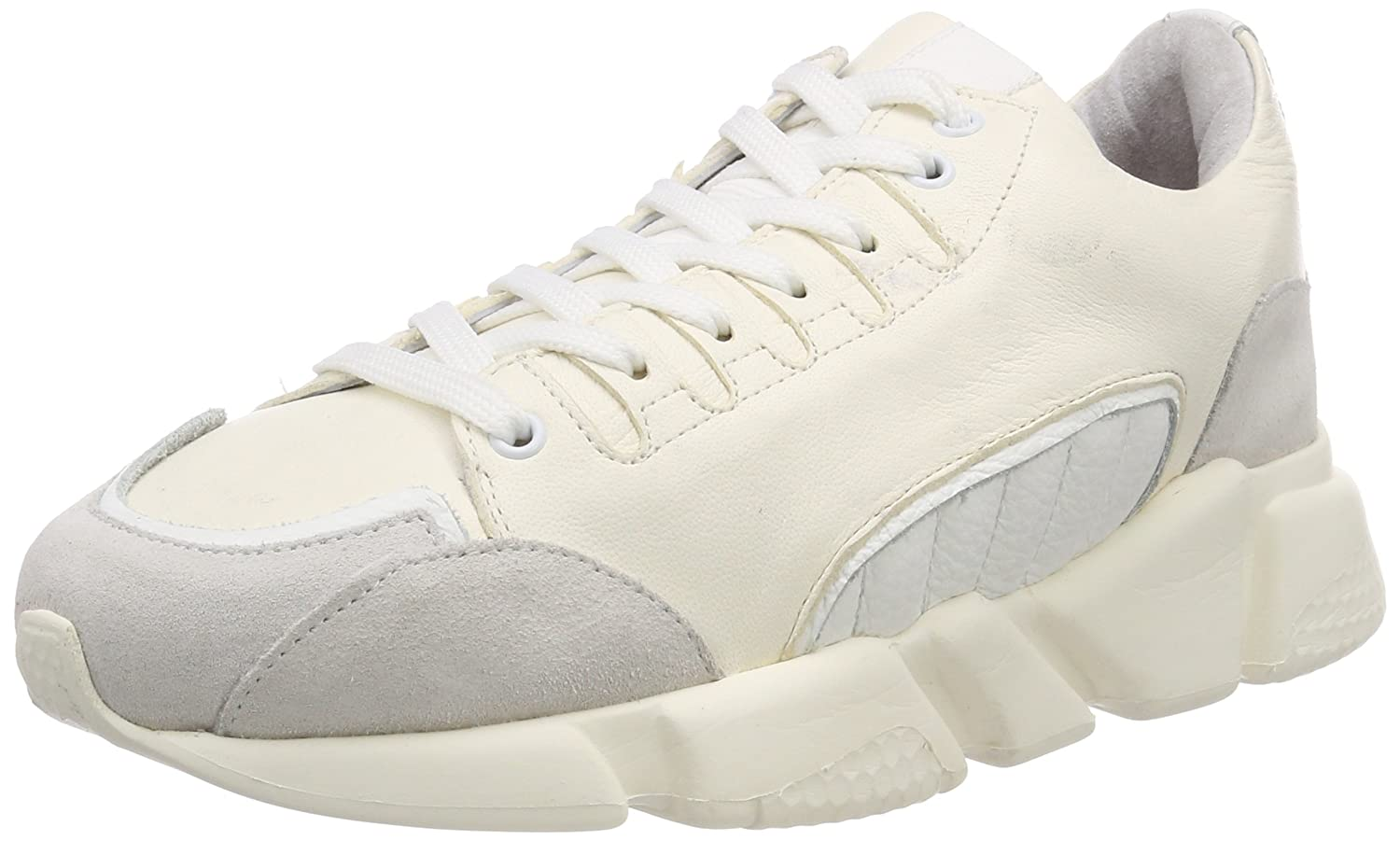 SELECTED FEMME Damen Slfvira Leather Trainer B Turnschuhe