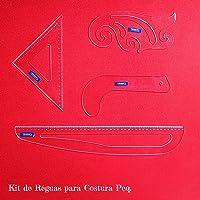 Kit Costura Nº1 Peq. - Acrílico Cristal 3 mm