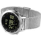 Kxcd Bluetooth Smart Watch EX18Bluetooth 4.0Smart Watch 5atm impermeabile compatibile con Android iOS sistema Smartwatch contapassi nuoto sonno monitor chiamata SMS promemoria orologio da polso.