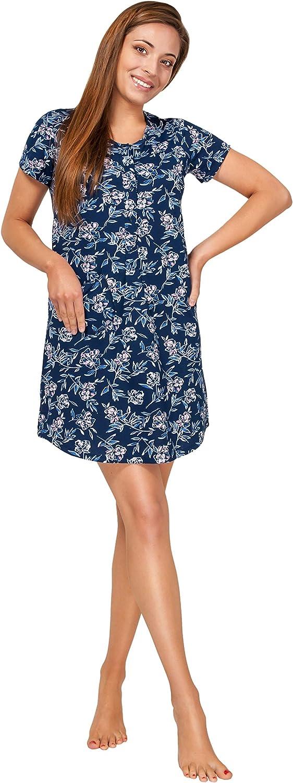 Sibinulo Camis/ón de Maternidad Pijama Lactancia Vestido