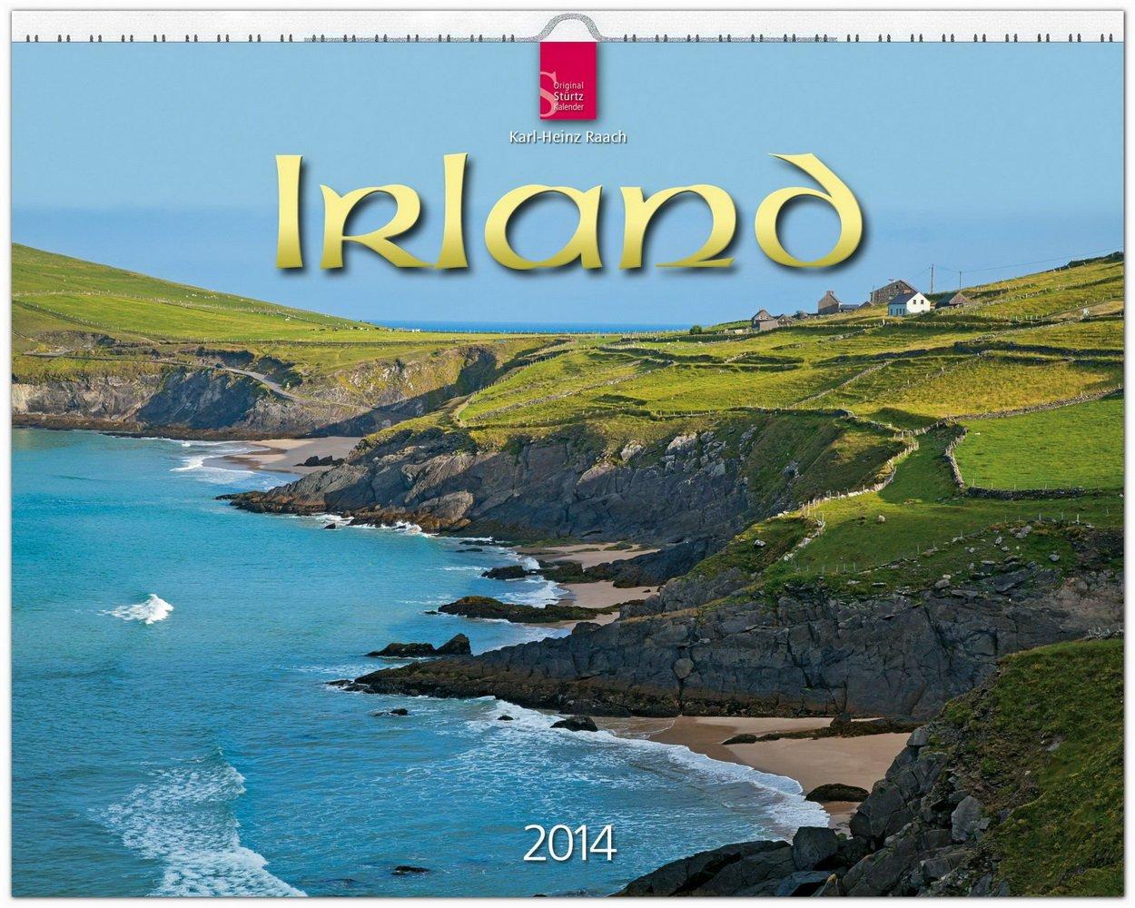 Irland 2014: Original Stürtz-Kalender - Großformat-Kalender 60 x 48 cm [Spiralbindung]
