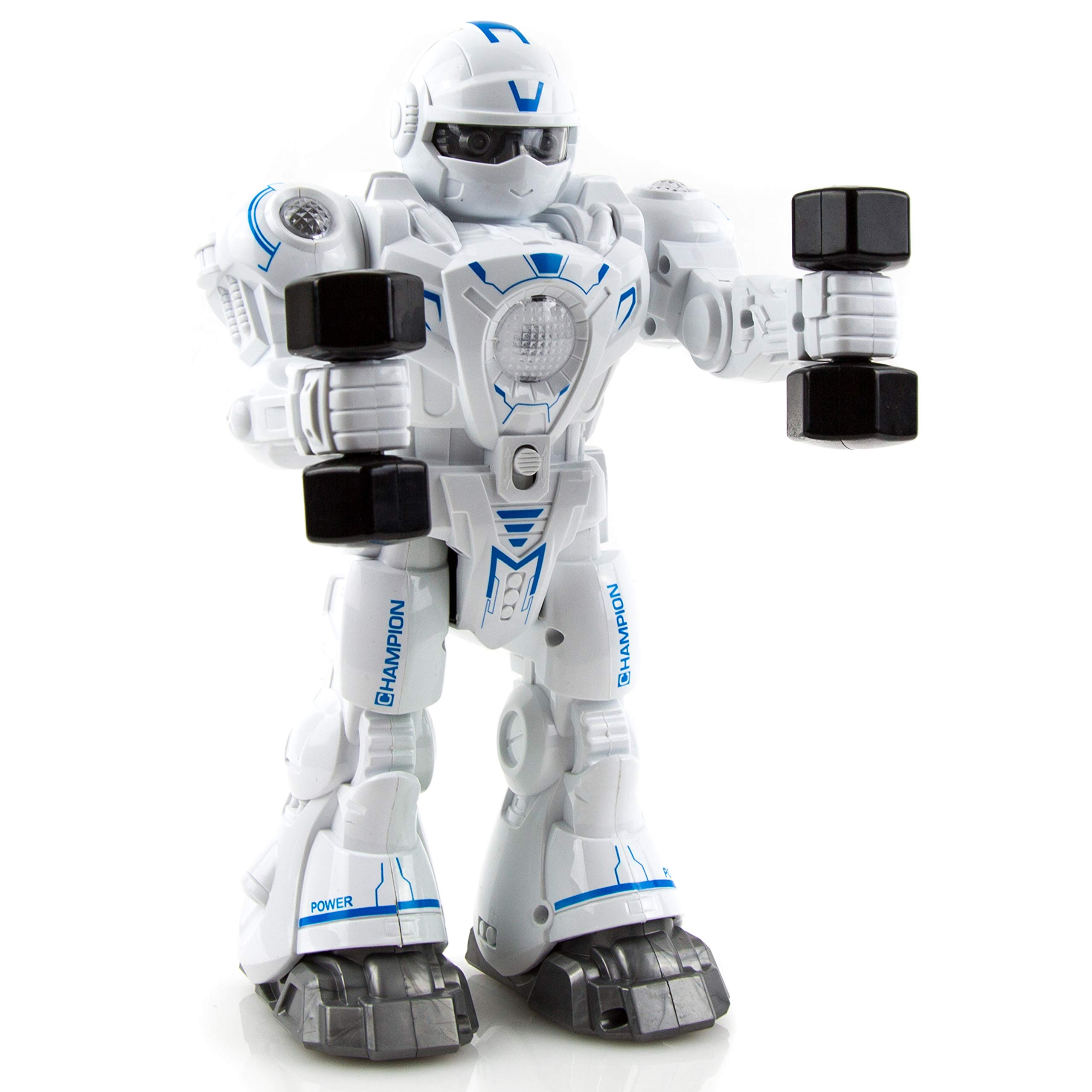 Toysery Walking Dancing Robot Toy Kids - Interactive Walking, Dancing Smart Robot Kit Boys & Girls (Battery Operated) by Toysery (Image #3)