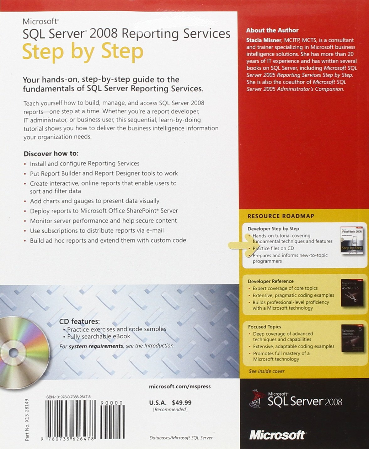 Microsoft Sql Server 2008 Reporting Services Step By Step Ebook