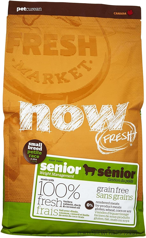 Now Fresh Grain Free Small Breed Senior Recipe – 6Lb