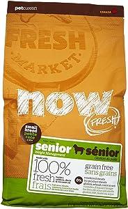 Now Fresh Grain Free Small Breed Senior Recipe - 6Lb