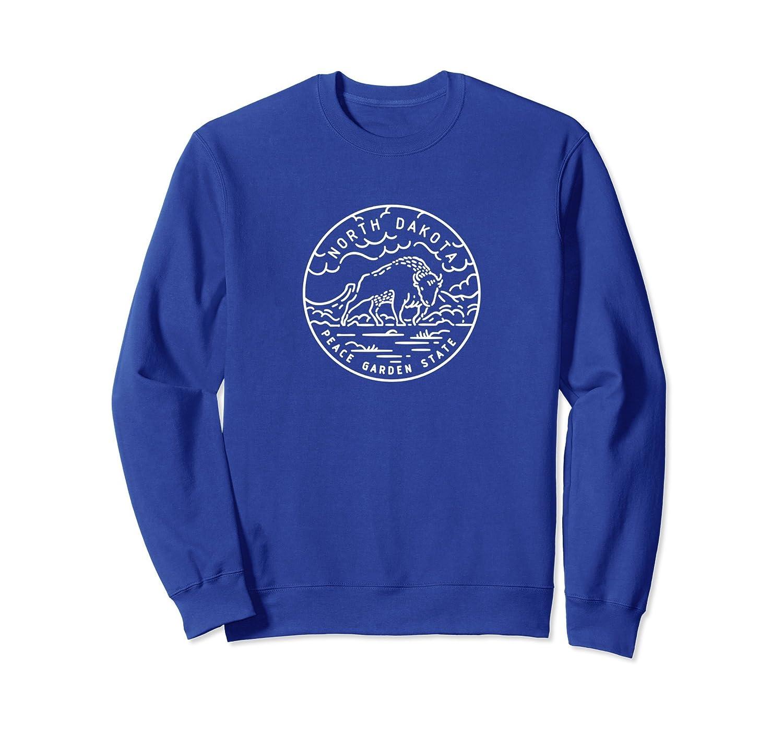 North Dakota State Design - Unisex Crewneck Sweatshirt-alottee gift