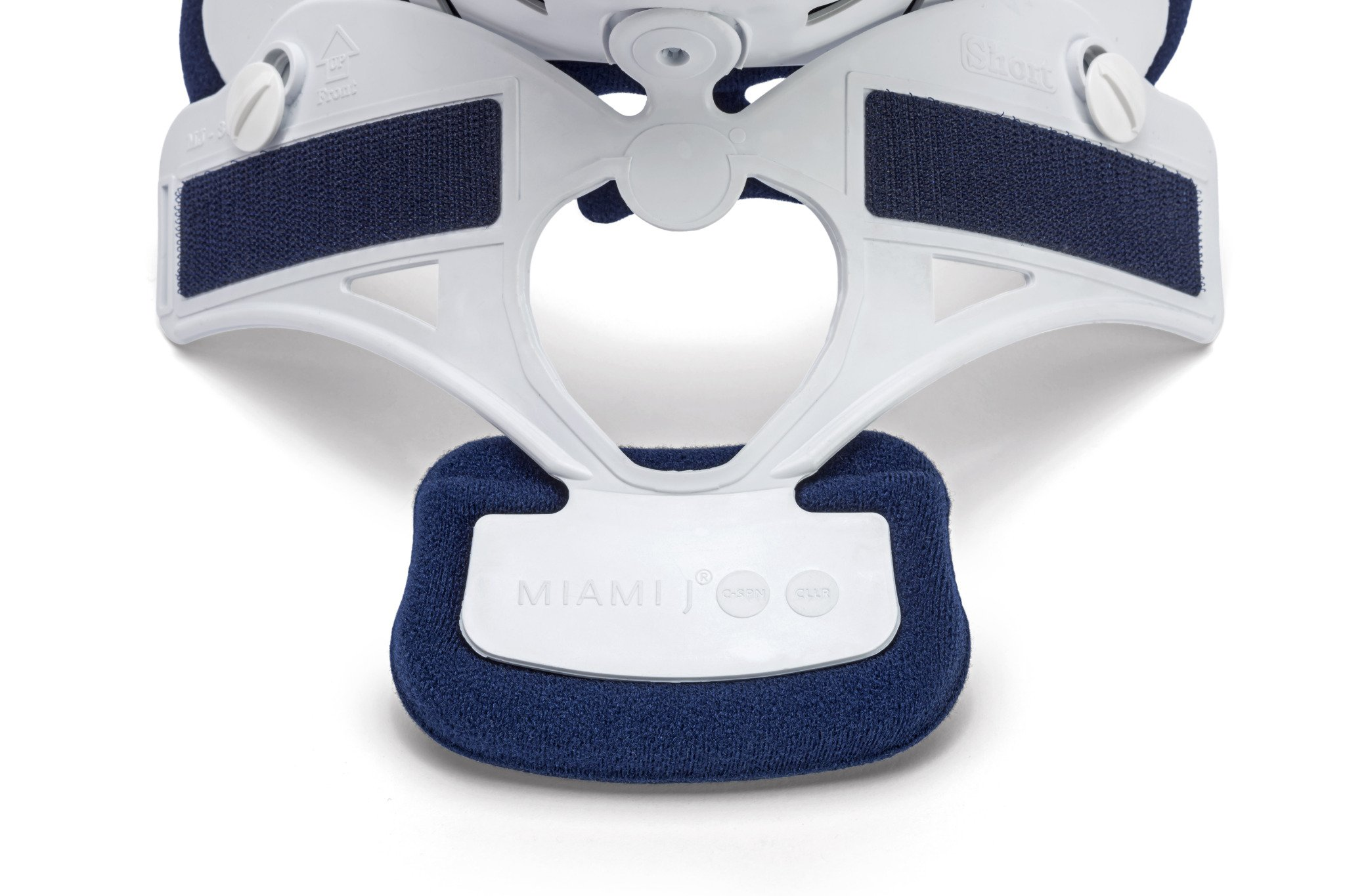 Ossur Miami J Cervical Neck Collar - C-Spine Vertebrae Immobilizer Semi-Rigid Antibacterial Pads for Patient Comfort - Relieves Pain & Pressure in Spine - MJ-250 X-Small by Ossur (Image #3)