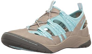 4bf46a43cc48 JSport by Jambu Women s Hibiscus Walking Shoe