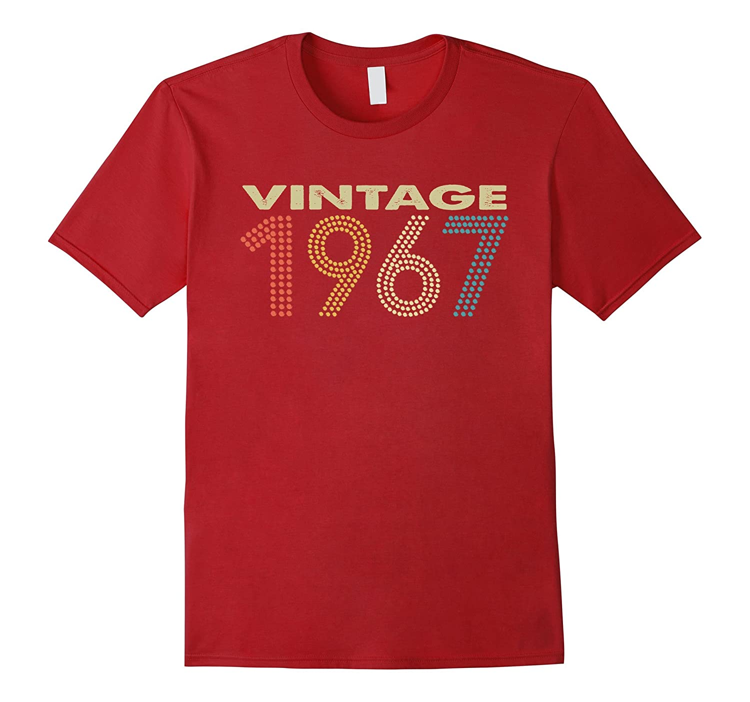 Vintage 1967 Tee Funny 50 Years Old 50th Birthday Shirt