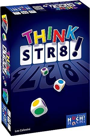 Huch & Friends 878 960 - Juegos de Mesa, Piense Str8!: Colovini, Leo: Amazon.es: Juguetes y juegos
