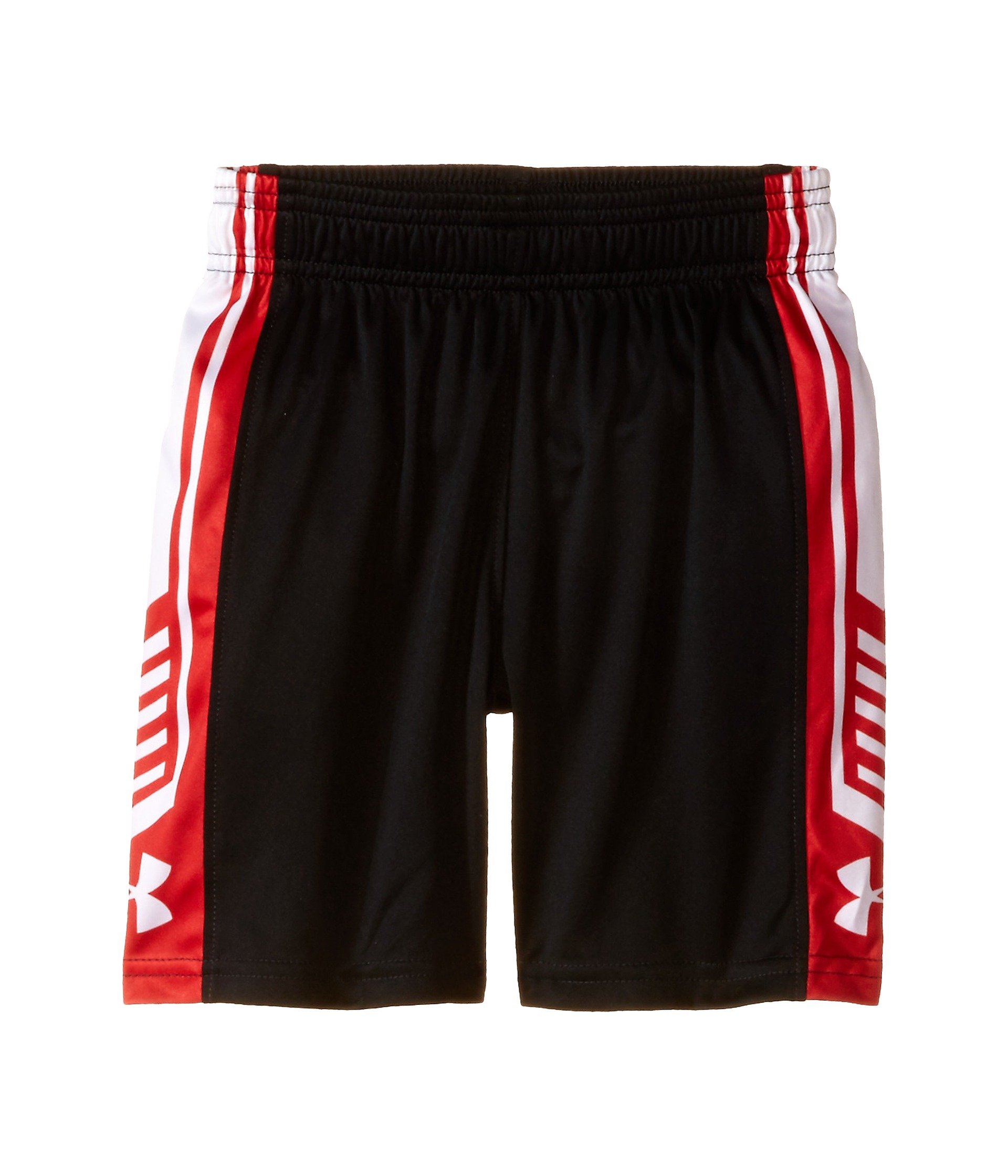 Under Armour Little Boys' Fade Out Short, Black, 6