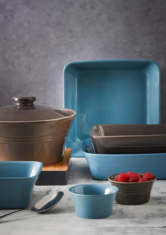 Mason Cash 31cm Dark Grey Roaster Deep Roasting Baking Dish Rectangle Oven Dish