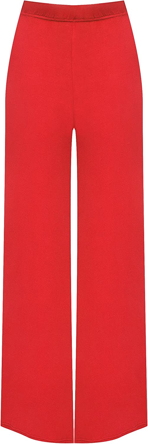 WearAll Plus Size Womens Palazzo Trousers 58750