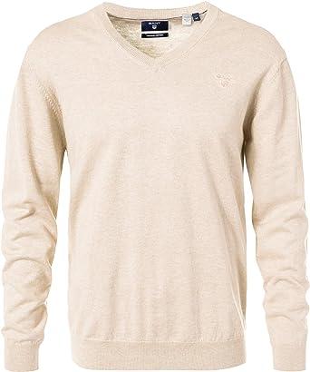 achten Sie auf Genieße den niedrigsten Preis süß billig GANT Herren Pullover mit V-Ausschnitt Sweater Uni & Uninah ...