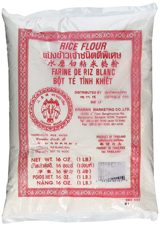 Thai Rice Flour - 16 oz (Basic) - Pack of 3