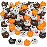 Fun Express Halloween Emoji ERASERS - Stationery - 144 Pieces