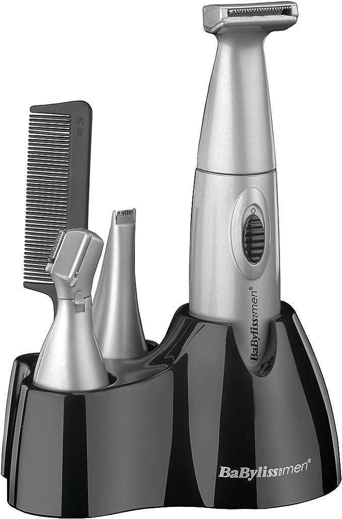BaByliss For Men 7040CU - Recortadora con accesorios (6 en 1 ...