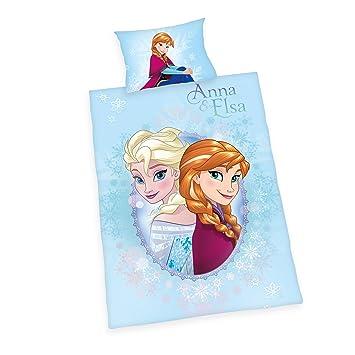 Herding Disneys Die Eiskönigin Bettwäsche Baumwolle Blau 100 X 135