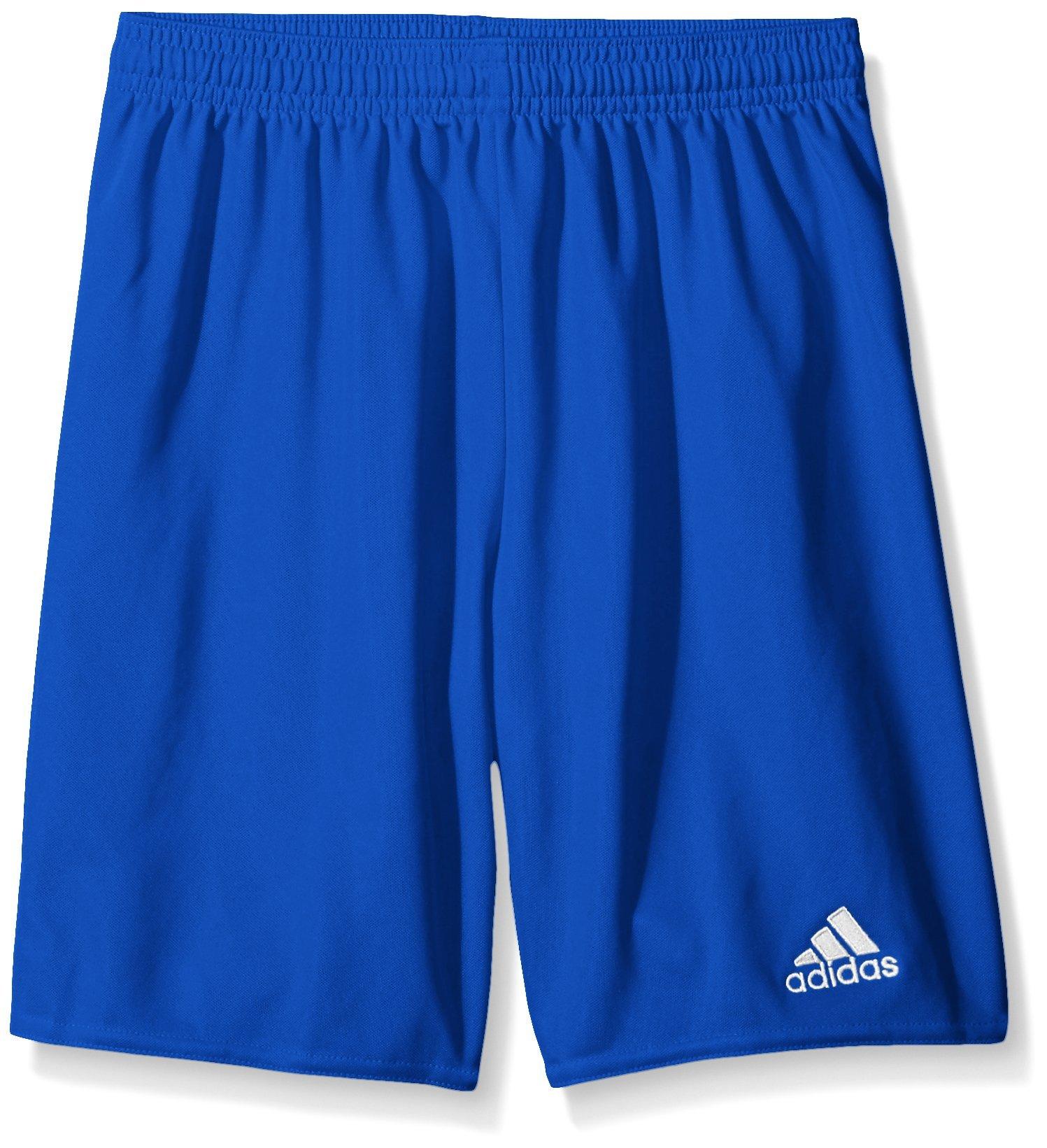 adidas Youth Parma 16 Shorts, Bold Blue/White, Medium