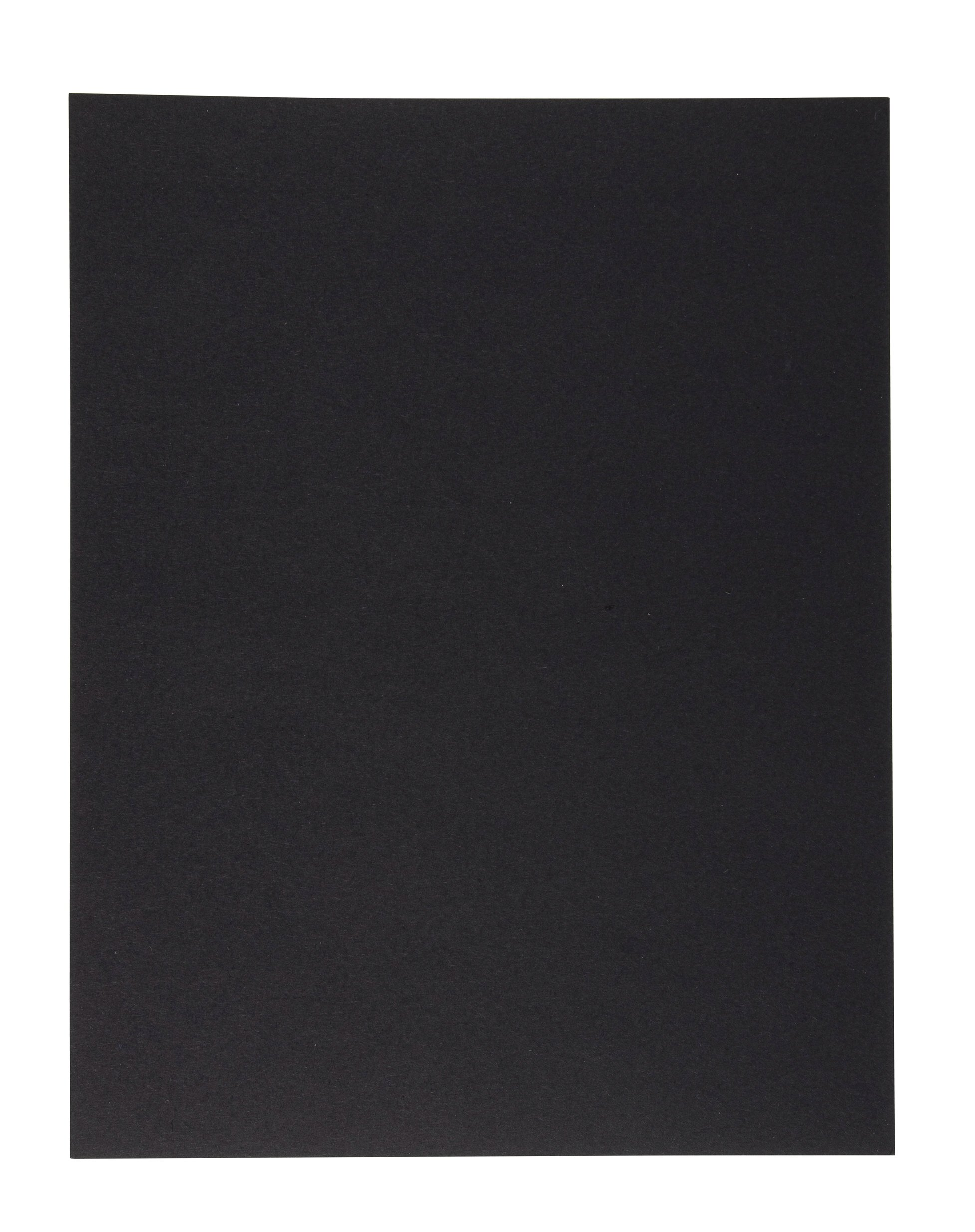 Binding Presentation Cover - 50-Pack Report Cover Paper, Letter Sized Cardstock Paper for Business Documents, School Projects, Un-Punched, 300GSM, Black, 8.5 x 11 inches by Best Paper Greetings (Image #2)
