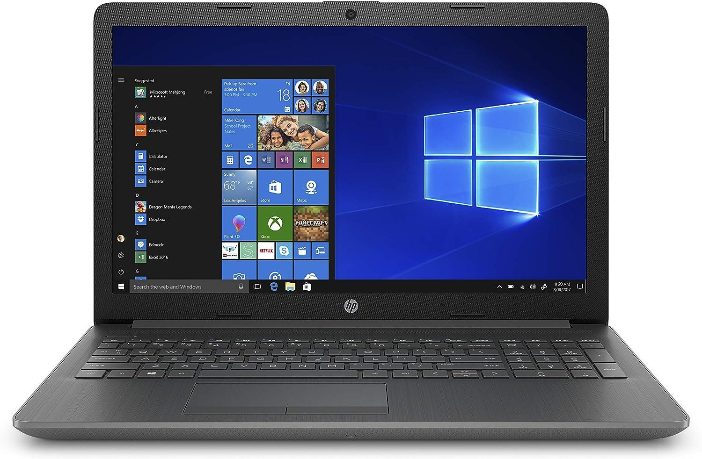 HP 15-inch Laptop, AMD Ryzen 3 3200U Processor, 8 GB RAM, 128 GB solid-state drive, Windows 10 Home with DVD drive (15-db1030nr, Chalkboard Gray)