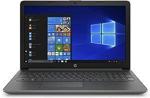 HP 15-inch Laptop, AMD A4-9125 Processor, 4 GB RAM, 128 GB Solid-State Drive, Windows 10 Home with DVD Drive (15-db0050nr, Chalkboard Gray)