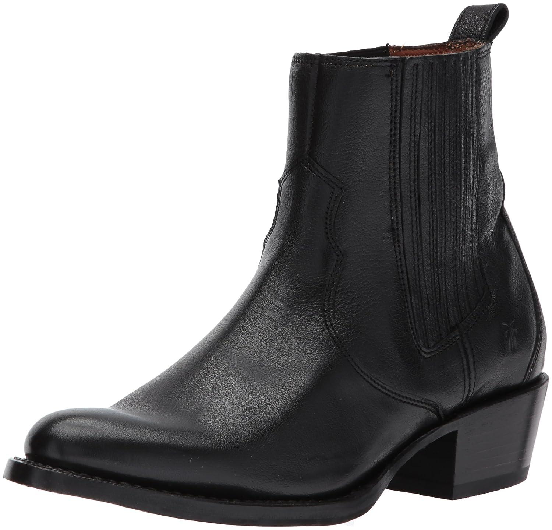 FRYE Women's Diana Chelsea Boot B01MS3T7A8 9.5 B(M) US|Black Pebbled Buffalo