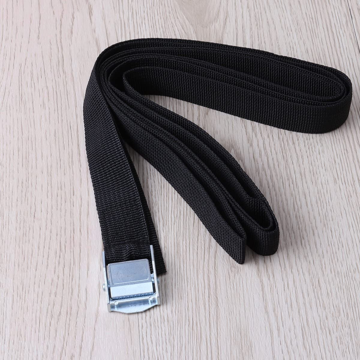 Black VORCOOL 6/Tie-Down Straps Lashing Straps with Clamp Lock for Car Vehicle
