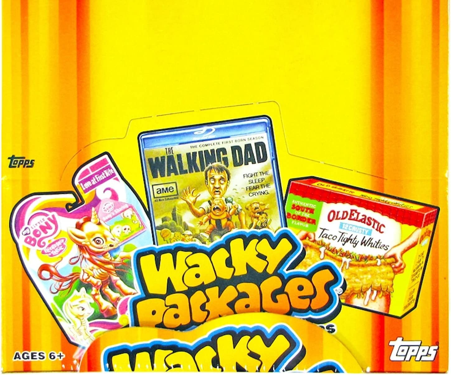 Wacky Packages Stickers 2014 Factory Case Of 24 Retail Boxes Garbage Pail Kids