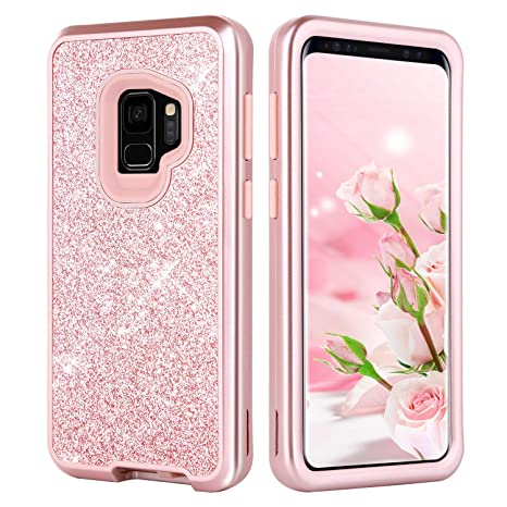 Amazon.com: Galaxy S9 Funda, Samsung Galaxy S9 Funda, duedue ...