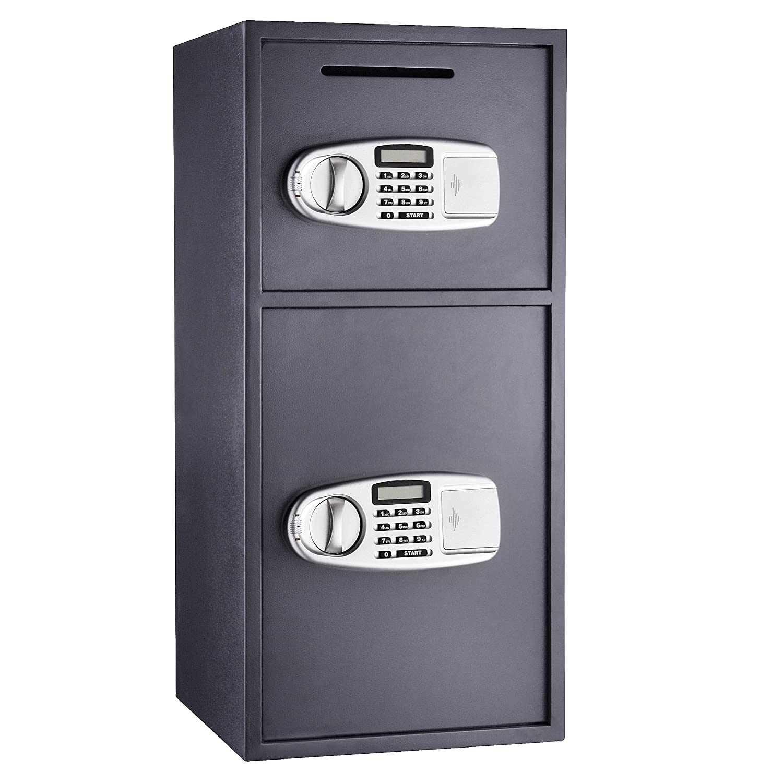 7900 Paragon Lock & Safe Double Door Digital Depository Safe Cash Drop Safe Security