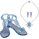 Frozen 2 Elsa Epilogue Accessory Set, Pretend Playset Includes Pair of Shoes, Earrings & Necklace, Perfect for Any Elsa Fan! for Girls Ages 3+