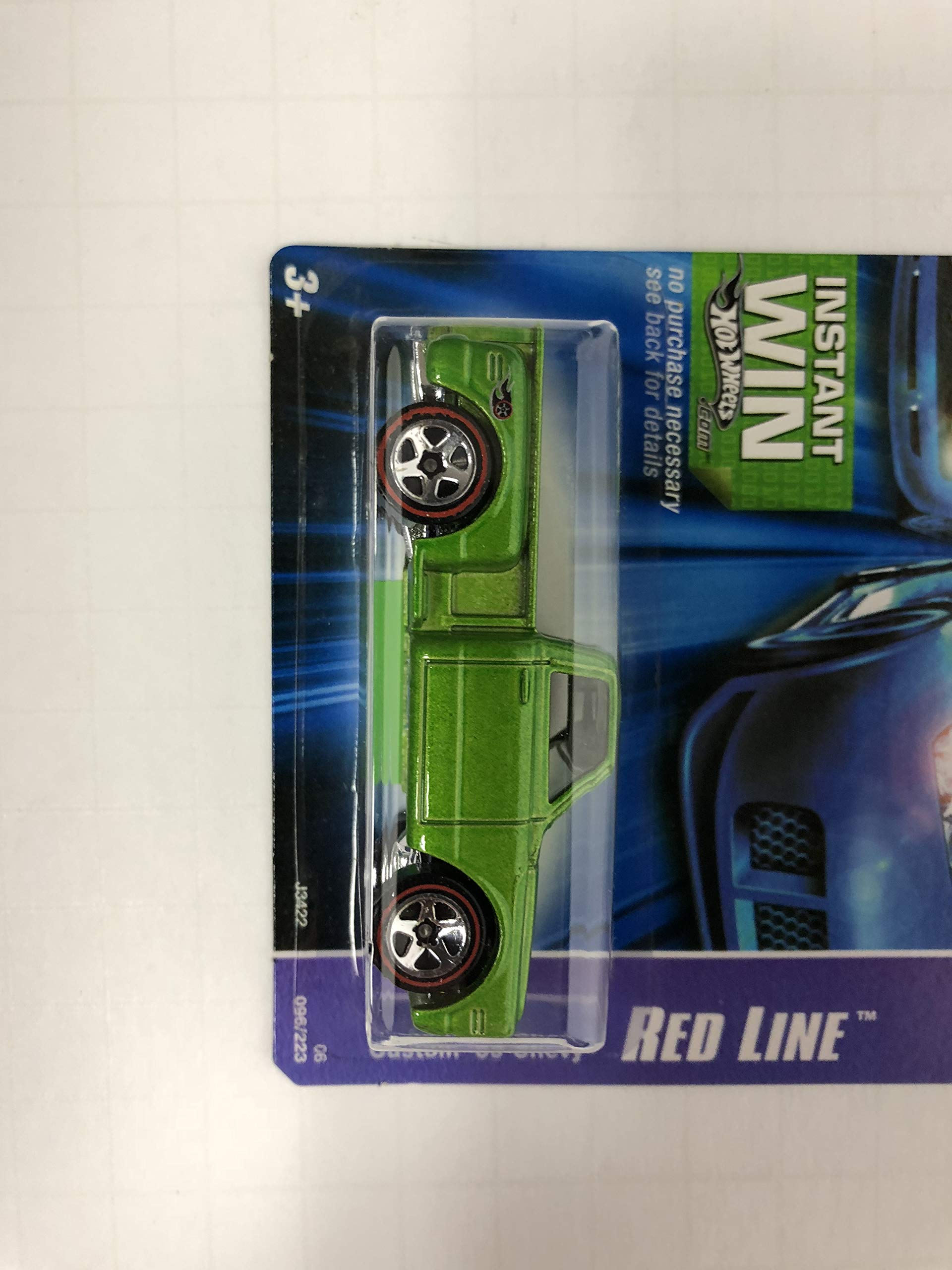 Custom '69 Chevy Red Line Series No. 096 Hot Wheels 2006 1/64 scale diecast car