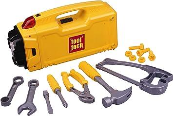 Red Box 65085 - Caja de herramientas de juguete con linterna [Importado de Alemania]: Amazon.es: Juguetes y juegos